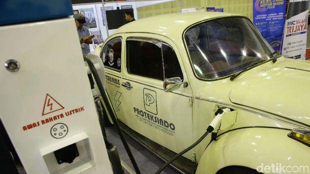 VW Kodok bertenaga listrik