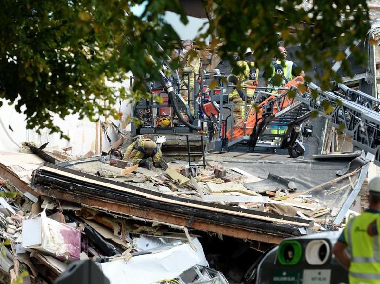 Ledakan Terjadi di Belgia, Satu Orang Luka Serius