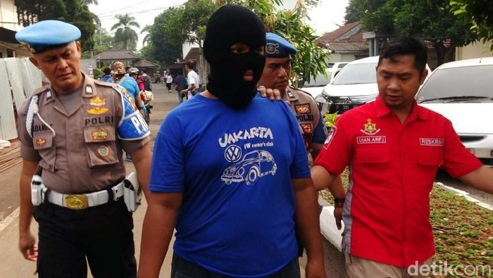 Pelaku pemerkosaan bocah di Bogor (Foto: Polres Bogor)