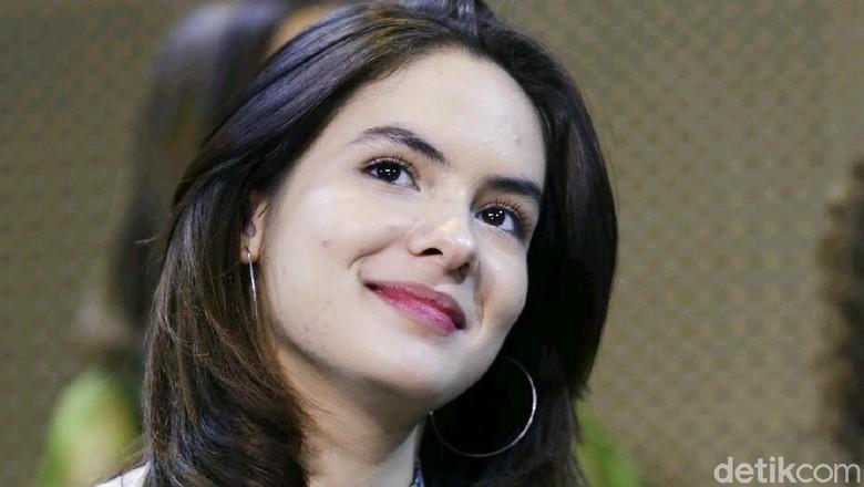 Steffi Zamora saat ditemui di CGV Grand Indonesia.