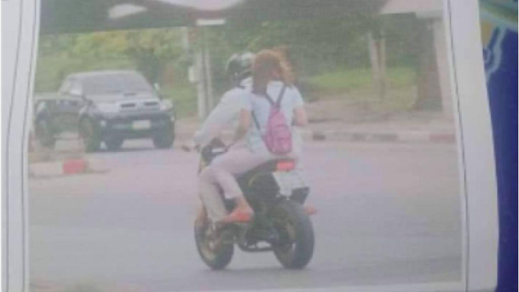Nah Lho! Tilang Elektronik, Istri Tahu Suami Bonceng Wanita Lain