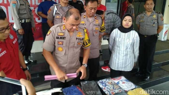 Polres Bogor mengungkap kasus pencabulan bocah di Gunung Putri. (Sachril Agustin Berutu/detikcom)