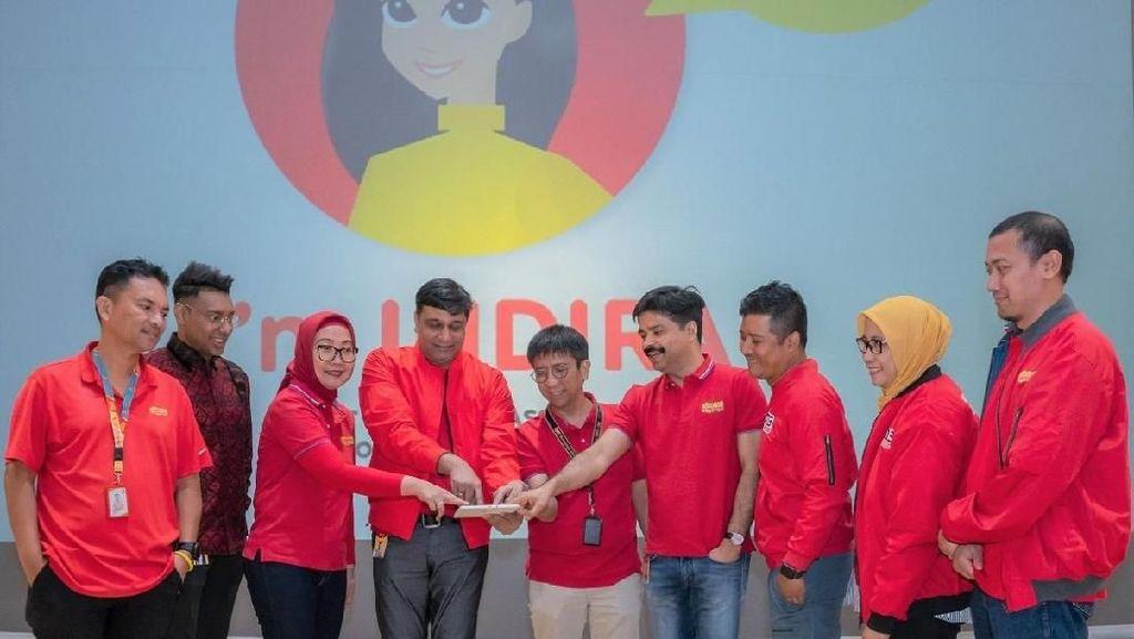 Indosat Perkenalkan Indira untuk Tingkatkan Kepuasan Pelanggan