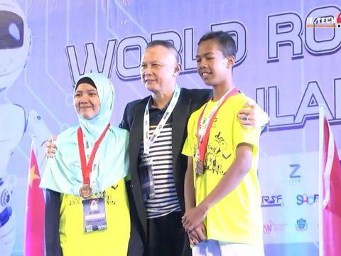 Anak Tukang Permak Baju di Sragen Raih Penghargaan Lomba Robotika Internasional
