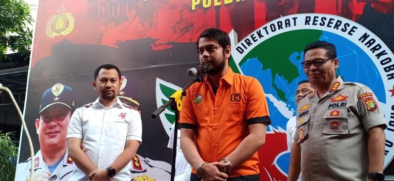 Polisi Serahkan Rio Reifan ke RSKO Cibubur untuk Rehabilitasi