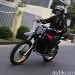 Tes Perdana Motor Listrik Trail Buatan Bandung