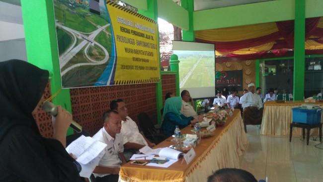 Lahan Proyek Tol Probolinggo-Banyuwangi 1.000 Ha, Sebagian Sawah