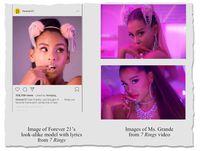 Ariana Grande Tuntut Forever 21 Karena Pakai Model yang Mirip dengannya