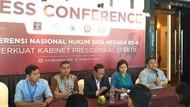 Konferensi Hukum Tata Negara Minta Jokowi Evaluasi Menteri Koordinator