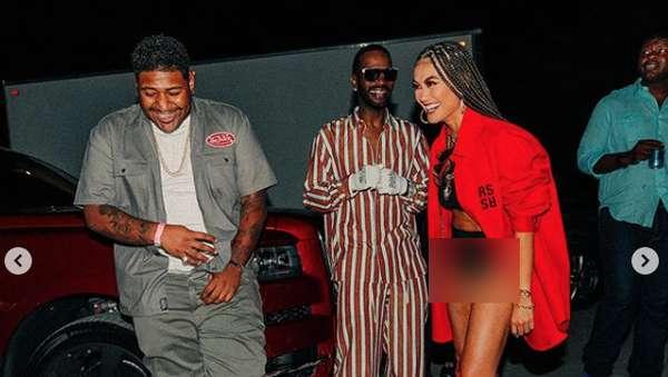 Aksi di Balik Layar Agnez Mo dan Nicki Minaj