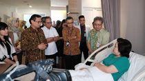 Direksi BPJS TK Jenguk Korban Kecelakaan Kerja