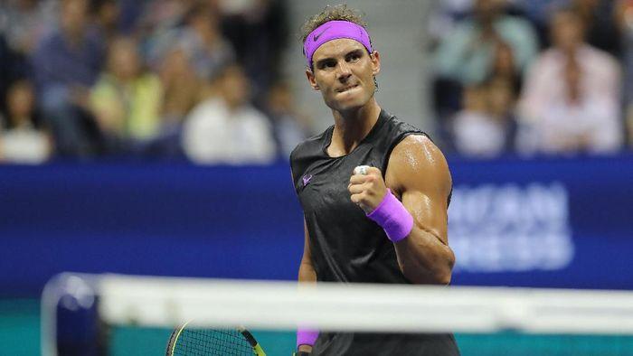 rafael Nadal berpeluang juara AS Terbuka 2019 untuk kali keempat. (Elsa / Getty Images)