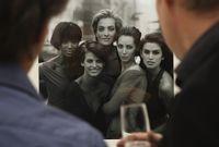 Salah satu karya Peter Lindbergh yang menampilkan supermodel era 1990-an seperti Naomi Campbell dan Cindy Crawford.