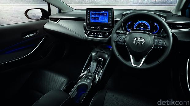 Interior Toyota Corolla Altis