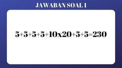 Uji ketangkasan pikiran dengan menyelesaikan beberapa teka-teki ini. Apakah kamu bisa fokus? Yuk langsung coba dijawab.