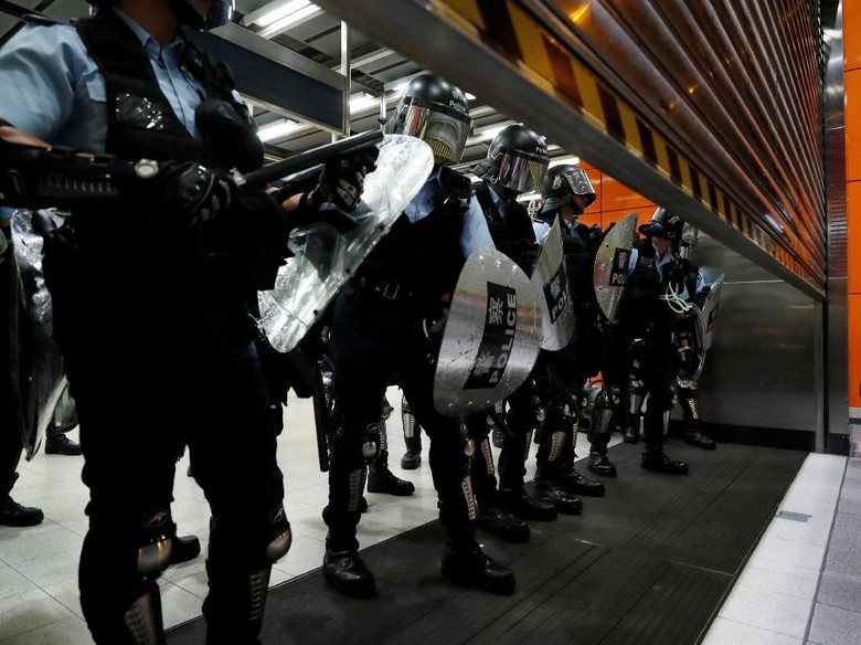 Hong Kong Bersiap Hadapi Banyak Unjuk Rasa Meski RUU Ekstradisi Dicabut