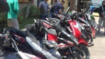 Ini Motor Sitaan di Kampung Begal Pasuruan, Barangkali Milik Anda yang Hilang