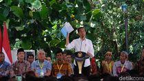 Serahkan SK TORA, Jokowi: Yang Pegang Lahan Tak Hanya yang Gede-gede