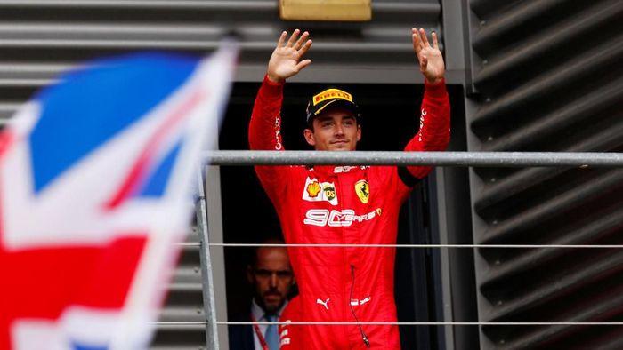 Charles Leclerc kini lebih pede bersaing di jalur juara F1 (REUTERS/Francois Lenoir)