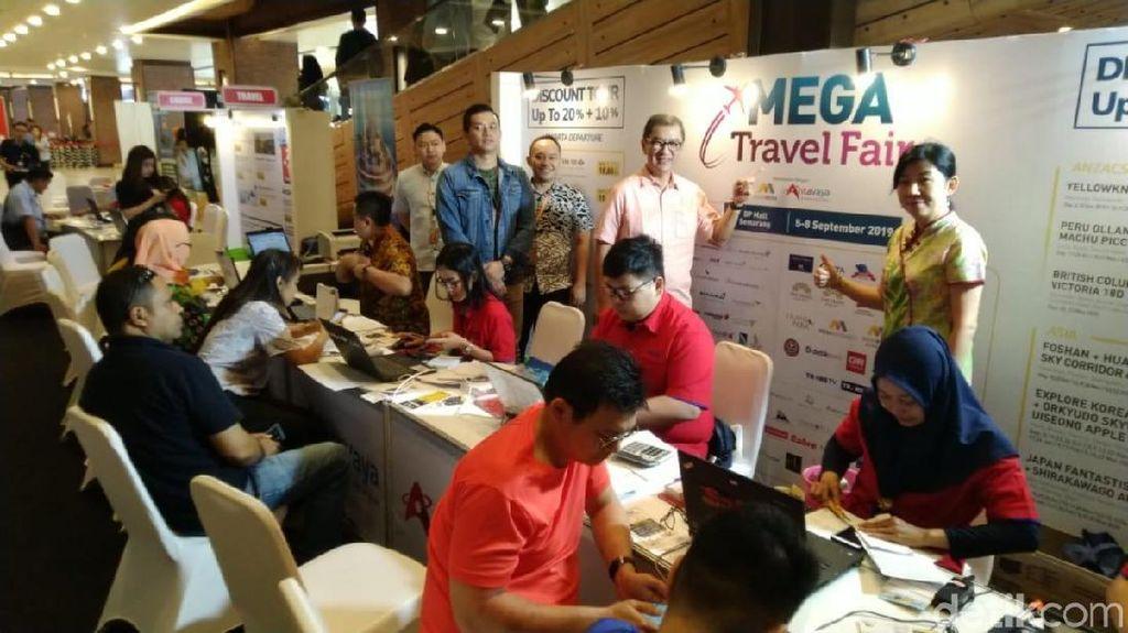 Sebelum Liburan, Cek Promo & Paketnya di Mega Travel Fair Semarang