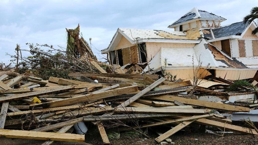 Begini Dampak Kerusakan Akibat Badai Dorian di Bahama