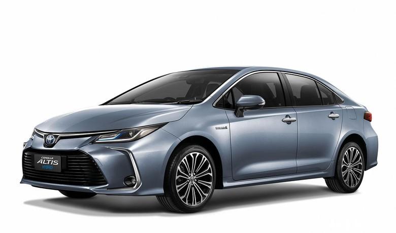 Corolla Altis. Foto: Toyota