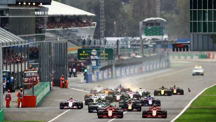 Monza masih gelar balapan F1 hingga 2014 (Dan Istitene/Getty Images)