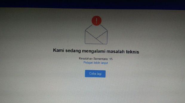 Aduh, Yahoo Mail Down?