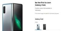 Galaxy Fold Dipastikan Dirilis Pada 6 September