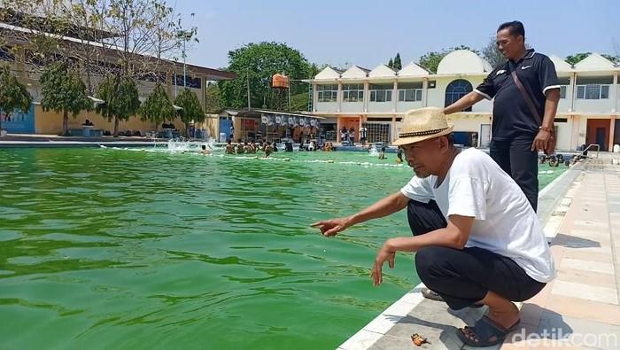 Kolam renang Tirta Kencana milik Pemkab Brebes. -- Foto: Imam Suripto/detikcom