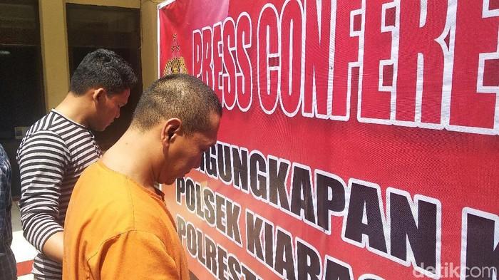 Asep Saepudin alias Ujang (34) (Foto: Dony Indra Ramadhan/detikcom)