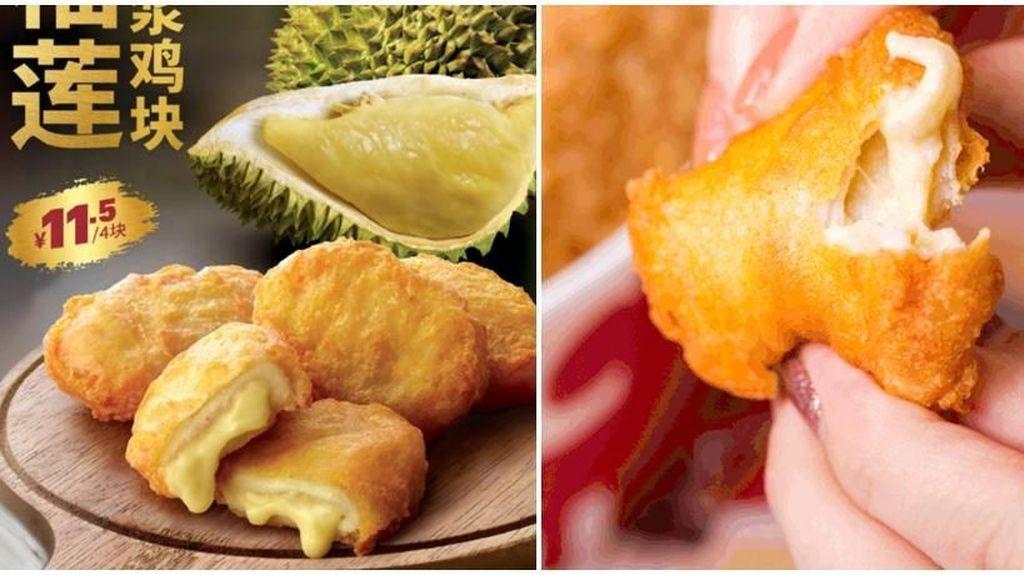 Nyam! Siapa Mau Cicip Nugget Durian yang Lumer di Mulut Ini?