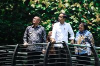 Di Pontianak, Presiden Jokowi Tanam Pohon Durian Serombut