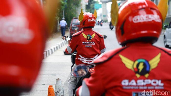 Mau Goyang Dominasi Gojek-Grab, Gaspol Punya Berapa Armada? Foto: Muhammad Ridho