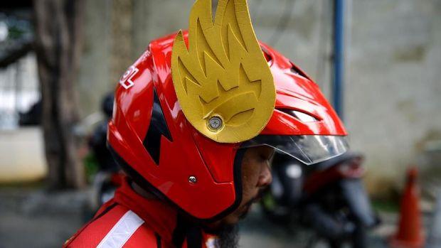 Helm Gundala Gaspol Sudah SNI, Tapi Masih Sering Ditanya Polisi