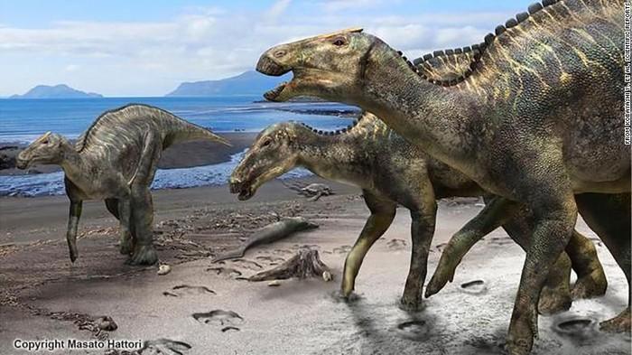 Kamusysaurus japonicus. Foto: CNN