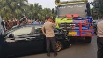 Tabrakan Beruntun di Bintaro, Sopir Dump Truck Masih Diperiksa Polisi