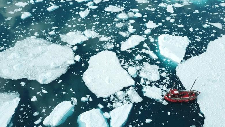es yang mencair di greenland (dok BBC)