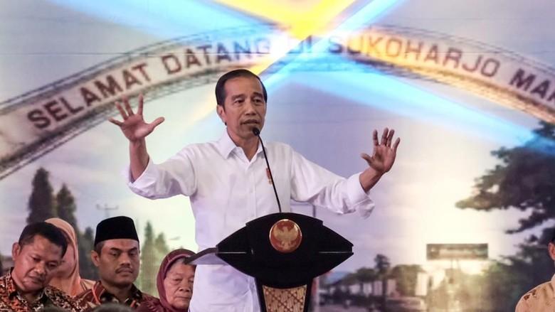 Sudah Terima DIM Revisi UU KPK, Jokowi: Jangan Ada Pembatasan Tak Perlu