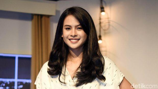 Maudy Ayunda saat ditemui di kawasan Mampang.