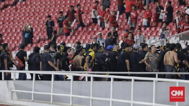 Kerusuhan di laga Timnas Indonesia vs Malaysia membuat PSSI didenda FIFA.