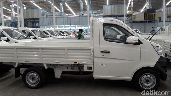 Mobil pikap Esemka/Foto: Ragil Ajiyanto