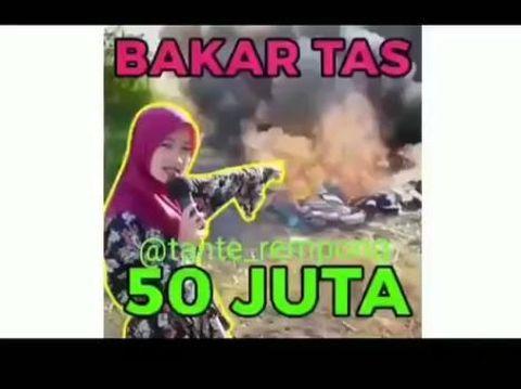 Alasan Bos Tas di Surabaya Bakar Puluhan Tas Senilai Rp 50 Juta