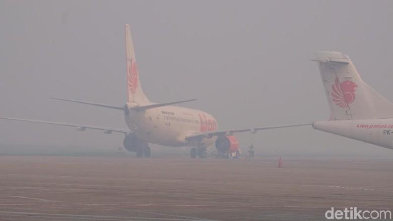 Diwarnai Kabut Asap, Jokowi Terbang dari Kalbar Menuju Jateng
