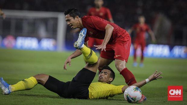 Timnas Indonesia kalah 2-3 dari Malaysia di GBK.