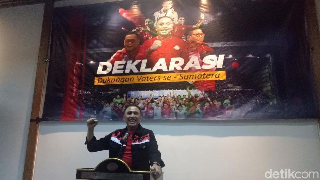 Iwan Bule Dapat Dukungan dari 20 Voter se-Sumatera