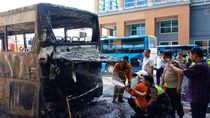 Penjelasan AP I soal Kebakaran Bus di Bandara Ngurah Rai Bali