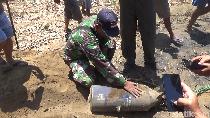 Bom Pesawat Sukhoi Seberat 125 Kg Jatuh di Kebun Tebu Lumajang