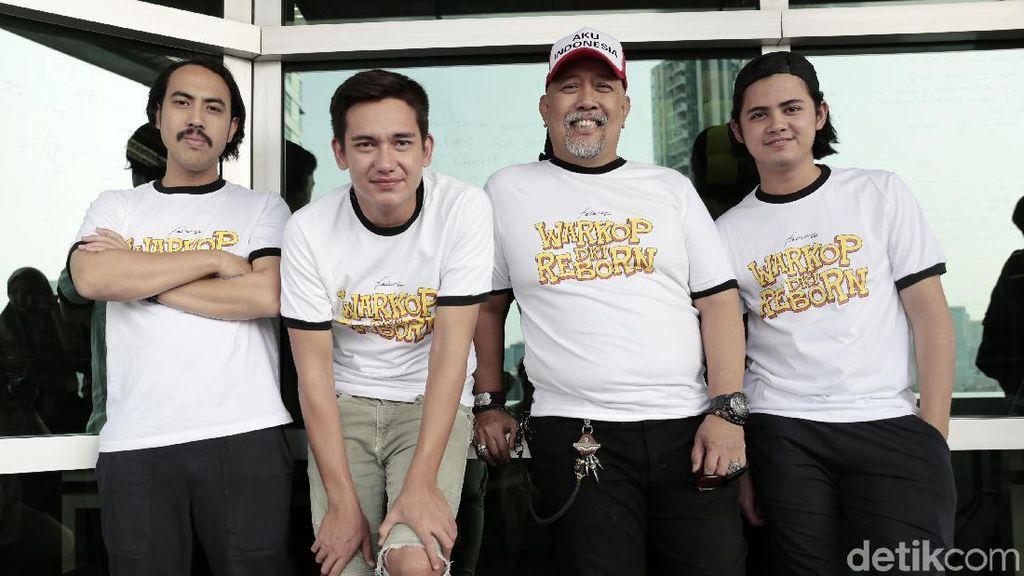 Kritik Sosial dalam Komedi Satir Masih Hadir di Warkop DKI Reborn