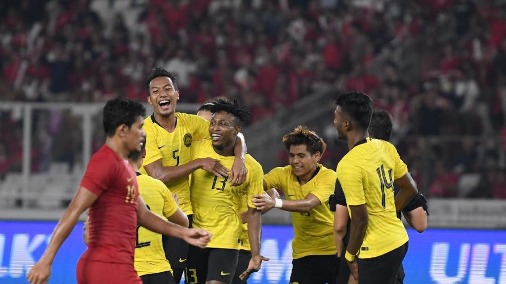 Sempat Unggul, Malaysia Harus Takluk 1-2 dari UAE